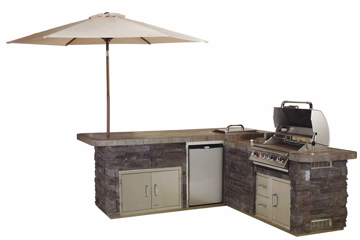 BULL Master Q - āra virtuve sala